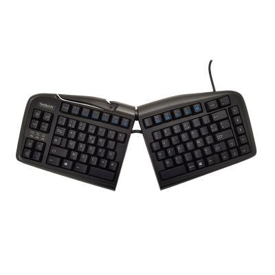 Le clavier ergonomique Goldtouch Adjustable Keyboard PC Azerty FR (clavier francais) a été conçu pour répondre aux besoins fonctionnels et ergonomiques de chacun en favorisant une position adaptée à chaque physionomie. Son design évite toute position inco