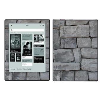 skin stickers pour kobo aura hd sticker mur de pierres achat prix fnac. Black Bedroom Furniture Sets. Home Design Ideas