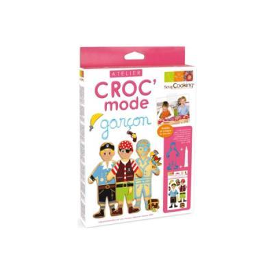 Image du produit Kit de préparation pâtisserie SCRAPCOOKING Kit Croc´mode garçon ScrapCooking®