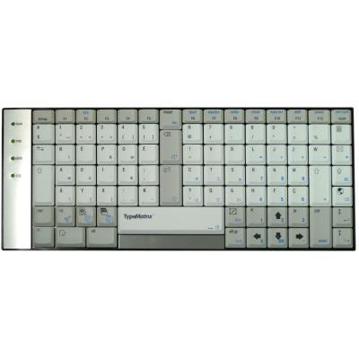 TypeMatrix présente le seul clavier ergonomique à l´équilibre repensé pour réduire les mouvements connus pour engendrer des Troubles Musculo-Squelettiques (TMS). En apportant une réponse aux problèmes ergonomiques des claviers classiques sans imposer de d