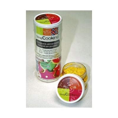 Image du produit Scrapcooking Colorants naturels rouge vert jaune.