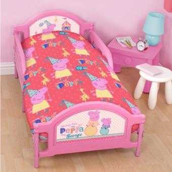 pack literie peppa pig funfair couette housse. Black Bedroom Furniture Sets. Home Design Ideas