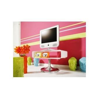 meuble tv hifi design blanc achat prix fnac. Black Bedroom Furniture Sets. Home Design Ideas