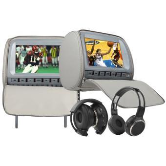 appui t te lecteur dvd de voiture avec 9 pouces lcd num rique 32 bit et 8 bit jeux paire 9. Black Bedroom Furniture Sets. Home Design Ideas