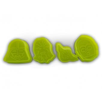 4 emporte pi ces biscuit en forme des personnages cultes - Ustensile de cuisine en m en 6 lettres ...