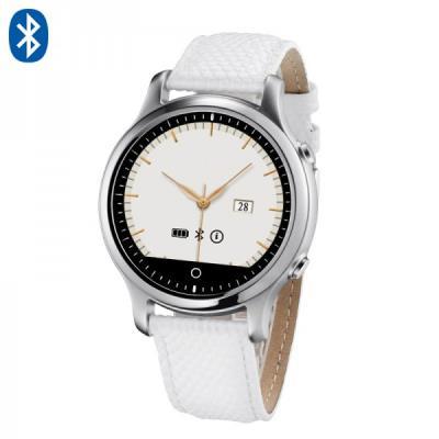 Prenez connaissance de notre nouveau modèle de montre connectée bluetooth 4.0 Compatible sur Iphone et Android, avec cette montre multifonctions, vous pourrez appeler et recevoir des appels, lire vos messages, avoir le nombre de km parcouru par jour grâce