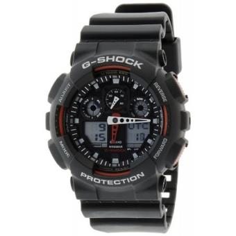 montre casio g shock ga 100 1a4er achat prix fnac. Black Bedroom Furniture Sets. Home Design Ideas