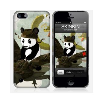 coque iphone 5 et 5s de chez skinkin design original pandas escape par barruf achat prix. Black Bedroom Furniture Sets. Home Design Ideas