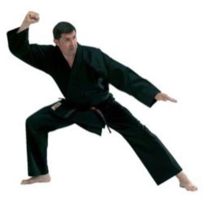 Kimono De Karate Noir - Fuji Mae T/140 - Taille : 140 Cm pour 36€