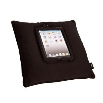 coussin icushion noir pour tablette tactile 45cm top prix fnac. Black Bedroom Furniture Sets. Home Design Ideas
