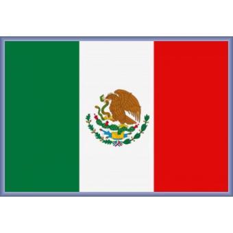 poster encadr mexique drapeaux du monde 61x91 cm cadre plastique mauve top prix sur. Black Bedroom Furniture Sets. Home Design Ideas