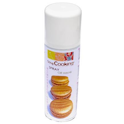 Image du produit ScrapCooking® - Spray alimentaire or - 125 ml