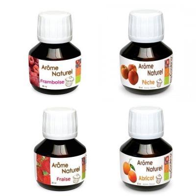 Image du produit Coffret 4 arômes alimentaires printaniers