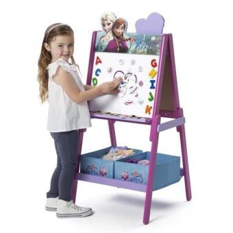 la reine des neiges tableau enfant chevalet en bois avec. Black Bedroom Furniture Sets. Home Design Ideas