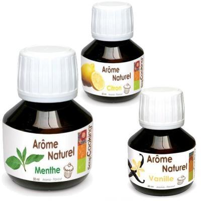 Image du produit Coffret 3 arômes alimentaires Mojito