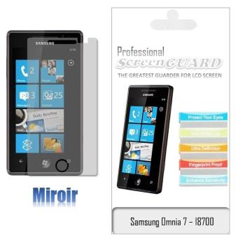 Film cran samsung omnia i8700 screenguard miroir for Miroir tv samsung