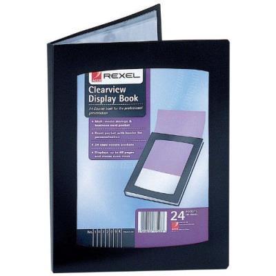 REXEL CLRVIEW DSP BK A5 24PKT BLK 10410 Description du produit: Rexel 10410BK Couleur: Noir Type : Fournitures de bureau Date de sortie : 2009-12-31 Fabricant : Acco UK Limited