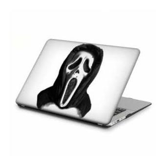 coque rigide macbook pro ecran retina 13 pouces horreur scream blanc achat prix fnac. Black Bedroom Furniture Sets. Home Design Ideas
