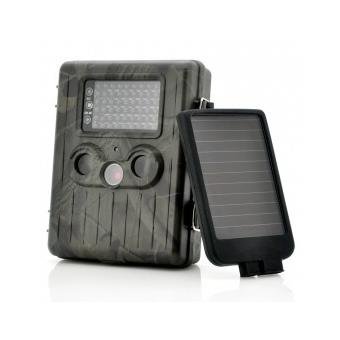 camera de surveillance camo rechargeable panneau solaire. Black Bedroom Furniture Sets. Home Design Ideas