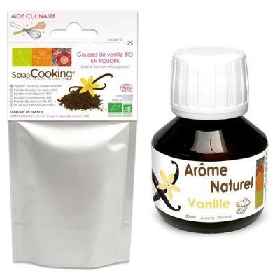 Image du produit Arôme + poudre de Vanille