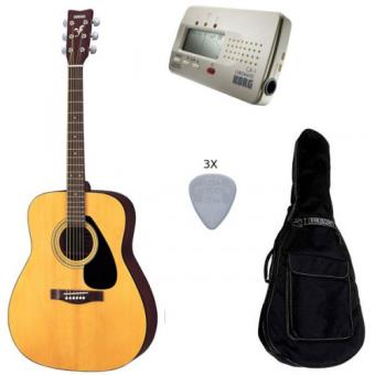 Pack yamaha f310 guitare acoustique accordeur housse for Housse guitare acoustique