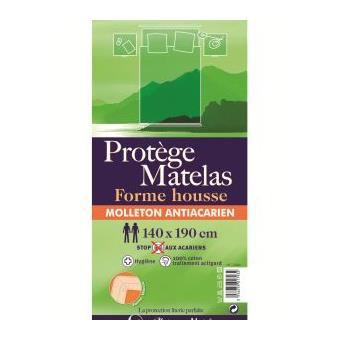 protege matelas 160x200 cm molleton anti-acariens tulipe - Achat ...