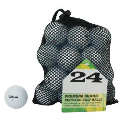 Second Chance Wilson 24 Balles De Golf De Récupération Qualité Supérieure Grade A pour 36€