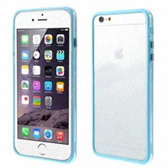 iphone 6 plus coque bumper tpu bleu clair achat prix fnac. Black Bedroom Furniture Sets. Home Design Ideas
