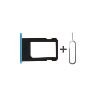 tiroir support carte nano sim pour apple iphone 5c bleu. Black Bedroom Furniture Sets. Home Design Ideas
