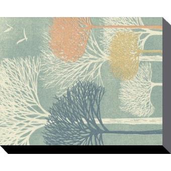 Oiseaux poster reproduction sur toile tendue sur ch ssis for Prix toile tendue