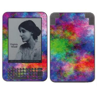 skin stickers pour amazon kindle keyboard sticker tissu colore achat prix fnac. Black Bedroom Furniture Sets. Home Design Ideas