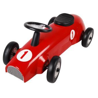 babysun voiture de course metal rouge achat prix fnac. Black Bedroom Furniture Sets. Home Design Ideas