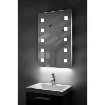 miroir toilette rasage bluetooth anti bu e capteur rasoir lumineux k210iwaud achat prix fnac. Black Bedroom Furniture Sets. Home Design Ideas