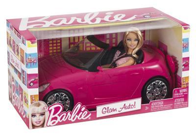 Mattel - Véhicules de Barbie - Barbie et son cabriolet pour 271€