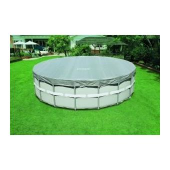 bache pour piscine ronde deluxe 5m49 intex 28041e achat. Black Bedroom Furniture Sets. Home Design Ideas