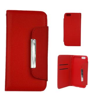 etui housse coque iphone 6 portefeuille rouge achat prix fnac. Black Bedroom Furniture Sets. Home Design Ideas