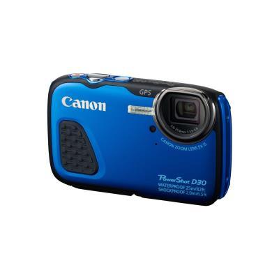 Canon D30, PowerShot. Mégapixel 12,1 MP, Type dappareil photo Appareil-photo compact, Taille du capteur dimage 25,4 58,4 mm (1 2.3). Zoom optique 5x, Zoom numérique 4x, Longueur focale 5 - 25 mm. Mise au point TTL, Ajustement de la focalisation Auto Manue