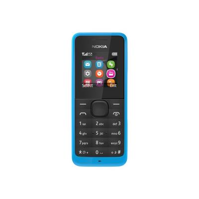 photo Nokia 105 - cyan - GSM - téléphone mobile - Smartphone