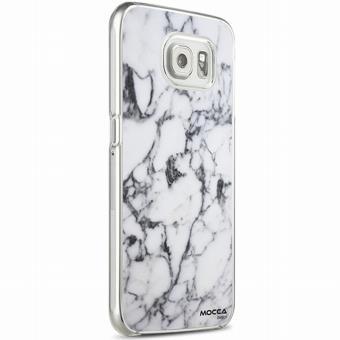 Coque Crystal Marbre Blanc Pour Samsung Galaxy S6 Edge Plus Achat Prix Fnac