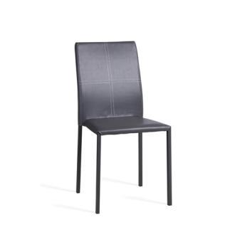 Chaise de salon elvio gris achat prix fnac for Chaise de salon grise