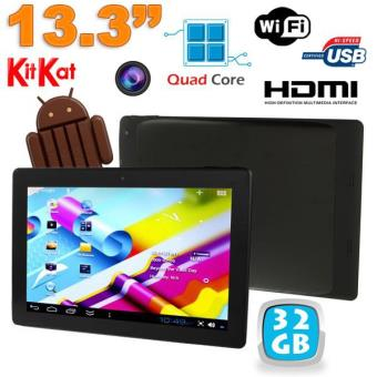 tablette tactile 13 pouces android 4 4 kitkat wi fi bluetooth 32go achat prix fnac. Black Bedroom Furniture Sets. Home Design Ideas