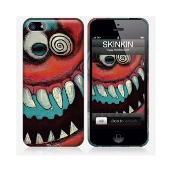 coque iphone 5 et 5s de chez skinkin design original creepy raiddog par jungle achat. Black Bedroom Furniture Sets. Home Design Ideas