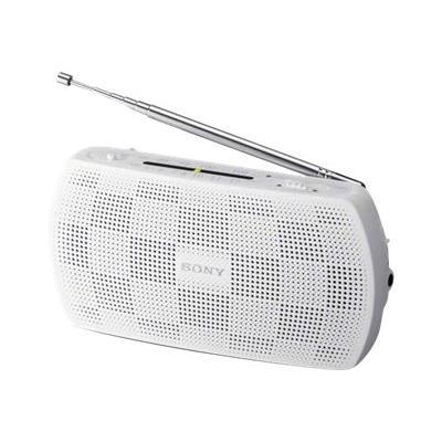 Sony SRF-18 est une radio stéréo AM/FM, entrée audio pour connecter votre lecteur mp3, conception portable et moderne.