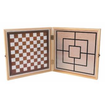 coffret bois jeux de soci t 100 jeux achat prix fnac. Black Bedroom Furniture Sets. Home Design Ideas