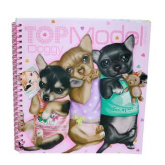 Coloriage album chiens top model top prix fnac - Album de coloriage top model ...