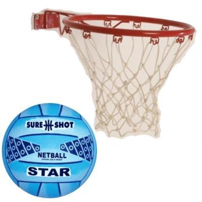 Sure Shot Kit De Basket-ball Détachable Easi Play Rouge Blanc pour 42€