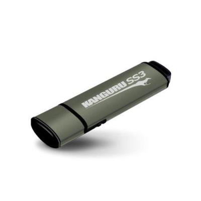 128GB Kanguru SS3 USB3.0 with Write-Protect. Description du produit: Kanguru 128GB SS3 USB3.0 Capacité: 128 Go Type d´interface: USB 3.0 Facteur de format: Casquette Largeur: 77 mm Profondeur: 20 mm Hauteur: 9 mm Tension de fonctionnement: 5 V Quantité :
