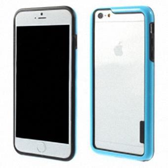 iphone 6 plus coque bumper tpu bleu achat prix fnac. Black Bedroom Furniture Sets. Home Design Ideas