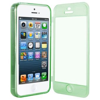 coque silicone clap iphone 5 5s vert fonce achat prix fnac. Black Bedroom Furniture Sets. Home Design Ideas