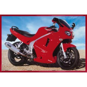 poster encadr motocyclettes triumph sprint 61x91 cm cadre plastique rouge top prix sur. Black Bedroom Furniture Sets. Home Design Ideas